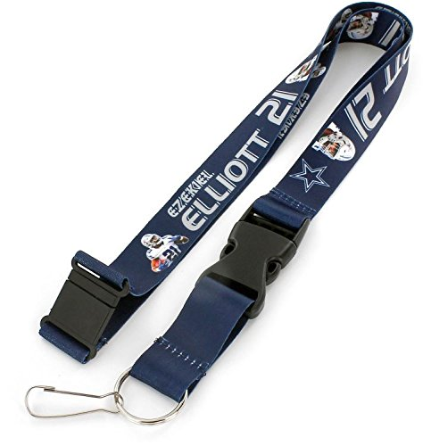aminco NFL Dallas Cowboys Spieler Ezekiel Elliott Action Lanyard