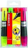 STABILO Surligneurs luminator 71–4 Assorties 2/5 mm, capacité 4