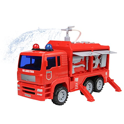 Great fire engine that actually shoots water
