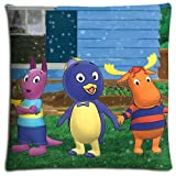 Zippered Polyester And Cotton The Backyardigans Wrinkle-free Livingroom Pillow Cases BACTERIA RESISTANT 18x18 inch 45x45 cm