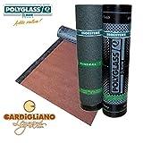 Guaina Bituminosa Ardesiata Rossa ISOESTERE 4,5 kg -5° - VENDITA A METRO