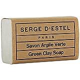Sapone Argilla Verde per pelli grasse 120GRS 100% pura e naturale regule e assorbe gli Exces di Sebum