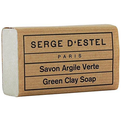 Jabón Arcilla Verde para pieles grasses 120grs 100% Pure y Natural regule y absorbe los Exces de Sebum
