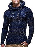 Leif Nelson, maglione da uomo, Grigio scuro, Large
