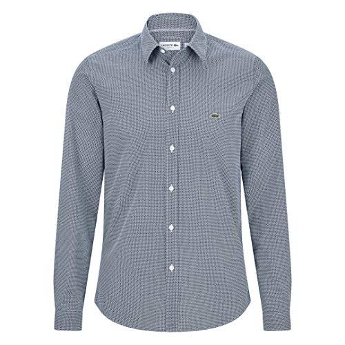 Lacoste CH6287 Hombre Camisa Manga Larga