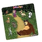 Eichhorn 109304081 - Mascha und der Bär Magnetpuzzle 7-teilig