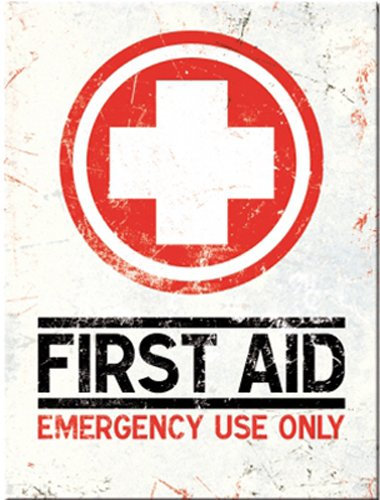 first-aid-emergency-use-only-red-white-cross-damaged-used-effect-old-retro-in-design-fridge-magnet-b