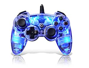 PDP Afterglow Wired Controller - Blue (PS3)