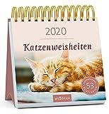 Postkartenkalender Katzenweisheiten 2020