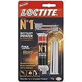 Loctite Colle forte - Instant Power N°1 - Seringue de 11 ml - Transparent