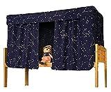 YJZQ Etagenbett Moskitonetz Hochbett Spielbett Bettvorhang Lichtdicht Vorhang Insektennetz Mückenschutz für Studentenwohnheim Kinderzimmer, 1.2 x 2.0 M(3pcs)