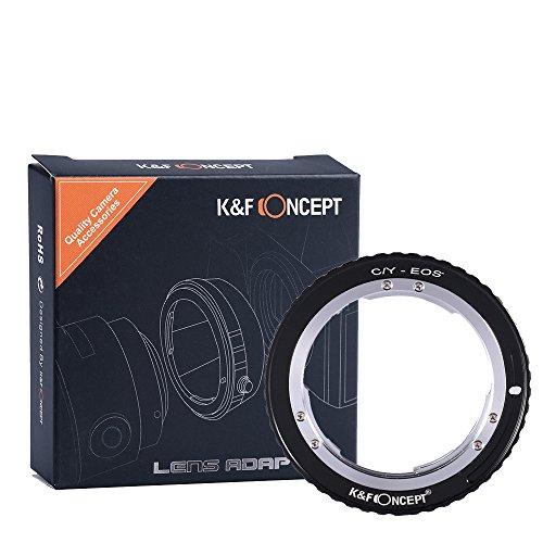 contax-yashica-c-y-lente-per-canon-eos-adapter-kf-concept-lente-adattatore-di-montaggio-per-canon-eo