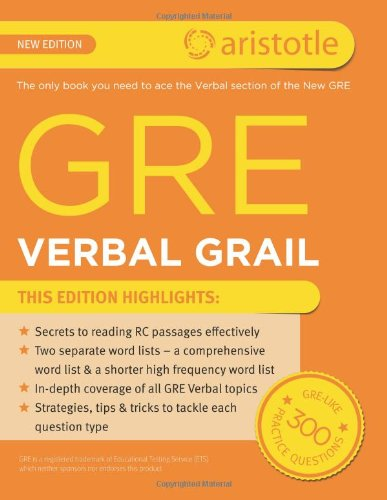 Gre Verbal Grail Ebook