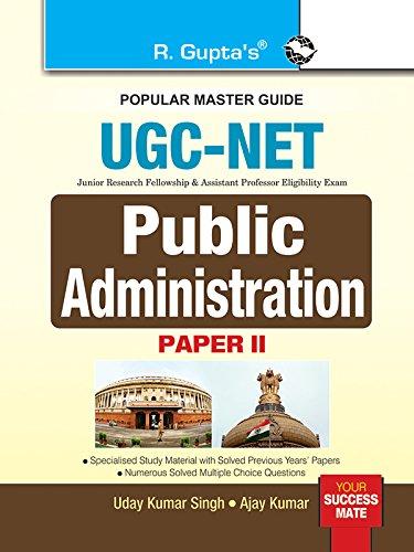 NTA-UGC-NET: Public Administration (Paper II) Exam Guide