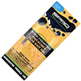 Spro Adjustable Deadbait Rig - verstellbares Hechtvorfach zum Hechtangeln, Vorfach zum Angeln mit Köderfisch, Deadbaitvorfach, Länge/ Tragkraft / Hakengröße:30cm / 9.1kg / Gr. 4