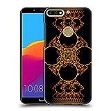 Head Case Designs Offizielle Sven Fauth Kreuz Gold Maori Ruckseite Hülle für Huawei Honor 7C/Enjoy 8