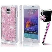 Sunroyal® Diamanti 3D Chiaro Custodia per Samsung Galaxy Note 4