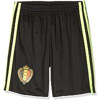 adidas Bélgica Pantalones Cortos De Fútbol Réplica Varios Colores Scarle/Black/Syello Talla:164