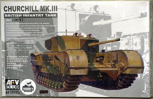 Unbekannt AFV-Club 35153 - Modellbausatz Churchill MK3 (Churchill Der Club)