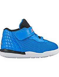 Nike, Zapatos de Primeros Pasos para Bebés, Negro (Blck/Ttl Crmsn-Dk Prpl DST-Wht), 30 2/3