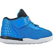 Nike 844706-415, Zapatos de Primeros Pasos Bebé-Niño, Azul (Blue Spark / Total Crimson / Black / White), 27 EU