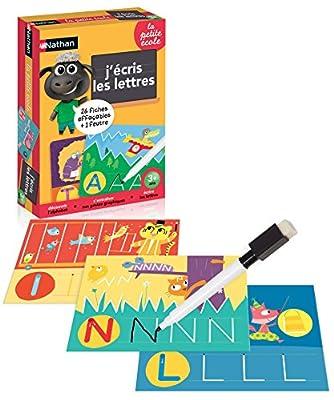 Nathan - 31331 - Jeu - J'écris les Lettres