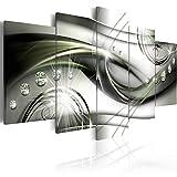 murando - Bilder 225x112 cm Vlies Leinwandbild 5 TLG Kunstdruck modern Wandbilder XXL Wanddekoration Design Wand Bild - Abstrakt Diamant a-A-0174-b-o