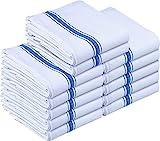 Utopia Towels - Asciugamani da Cucina Tovaglioli da Cucina (12 Pacchetti) Tovagliolo da tè da tavola (38 x 63 cm)