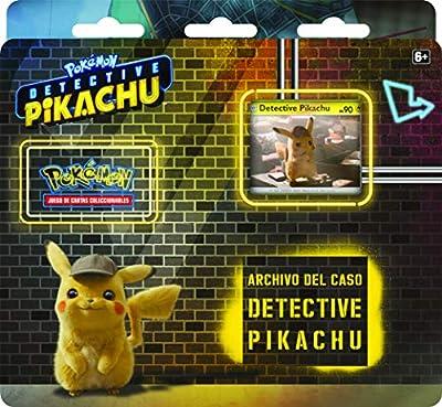Pokemon JCC - Archivo del caso de Detective Pikachu (Asmodee, POTK1901) de Asmodee