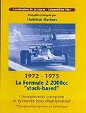 Telecharger Livres La Formule 2 2000cc stock based (PDF,EPUB,MOBI) gratuits en Francaise