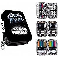 Astro 3-Zip Plumier Case 3-stöckige Star Wars Darth Vader und Stormtrooper Clamshell preisvergleich bei kinderzimmerdekopreise.eu