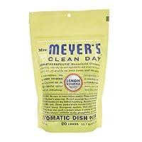 Mrs. Meyer's Clean Day Lemon Verbena Auto Dishwashing Packs - 20 Loads - 12.7 oz (Pack of 6)