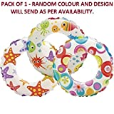 #2: Royals Swim Ring - 3 to 6 Years (Size - 20inch) (1 Swim Ring Random Design)