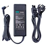 DTK Chargeur Adaptateur Secteur pour Toshiba / Lenovo / Medion / Asus : 19V 4.74A 90W (75W, 65W Compatibles) Connecteur: 5.5*2.5mm Alimentation pour ordinateur portable