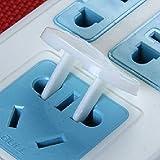 yuver (TM) nueva 10pcs cerradura eléctrica para bebé seguridad eléctrica cerradura de seguridad cubierta para bebé Niños Seguridad
