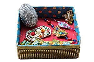 Rakhi Thali/Pack for Brothers by Rozelle