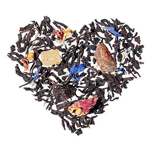 TeaLaVie – Loser Schwarztee | Tropical Spirit – blühende Tropenfrüchte | Schwarzer-Tee lose in edler Teedose für Teeliebhaber, ideal als Geschenk und Dankeschön | 100g Dose