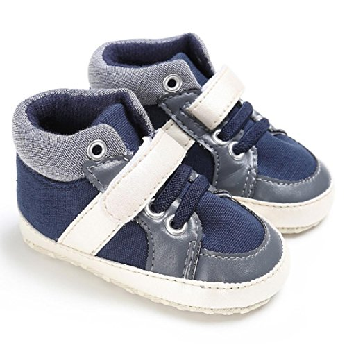 Baby Schuhe, Switchali Baby Krippe Soft Sole Schuh Sneakers Marine
