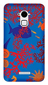 WOW 3D Printed Designer Mobile Case Back Cover For Coolpad Note 3