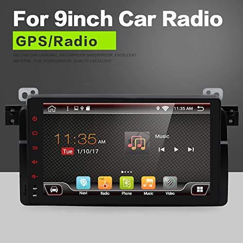 YUNTX Android 8.1 Car Radio de navegación GPS Para BMW E46 / M3 / 3 series(1998-2005) | 2 DIN | Canbus | 9 pulgada | Pantalla LCD Táctil | 2GB/32GB | DAB+ Soporte | 3G/4G | WLAN | Bluetooth|MirrorLink