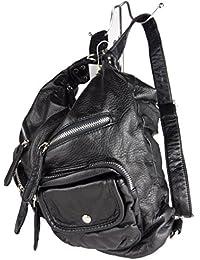 JODY 89297, 2in1 Damen Rucksackhandtasche, Handtasche und Rucksack, 37x28x15cm