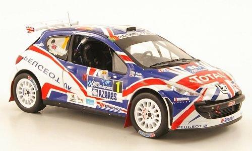 Preisvergleich Produktbild Peugeot 207 S2000, No.1, Total, IRC Azoren Rally, 2010, Modellauto, Fertigmodell, IXO 1:43