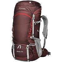 Mountaintop 55L Zaino Trekking Impermeabile Zaino Arrampicata Escursionismo montagna campeggio alpinismo viaggio