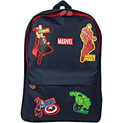 Marvel Avengers Mochila Escolar Capitán América Thor Hulk Iron Man para Niños Maleta Saqueo Viaje