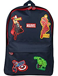 3ce594a34f61 Marvel Avengers Official School Bag for Boys Girls Adults Travel Rucksack Kids  Backpack Captain America Thor Iron…