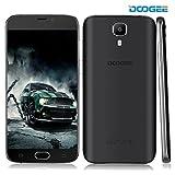 Smartphones Best Deals - DOOGEE X9 Pro, 5.5 Inch SIM-Free Unlocked Cell Phones - Android 6.0 4G Dual SIM - Mobile Phone With HD IPS Display - 2GB RAM+16GB ROM - 5.0MP+8.0MP Camera - 3000mAh Fingerprint Smartphone - Black