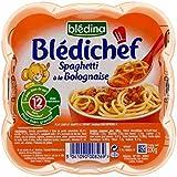 Blédina Chef De Spaghettis Bolognaise (12 Mois) 230G - Paquet de 4