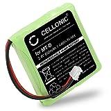 Cellonic® Qualitäts Akku für AVM Fritz Fon MT-D, Audioline Slim DECT 500 502 580 582, Telekom Sinus 201 / A201, Doro TH50 TH60 (600mAh) 5M702BMX,GP0735,GP0747,GP0827 Fritz!Fon Ersatzakku Batterie
