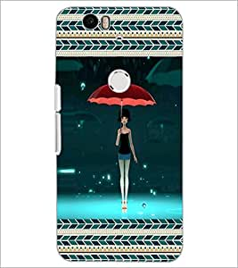 PrintDhaba Fantasy Girl D-5714 Back Case Cover for HUAWEI NEXUS 6P (Multi-Coloured)