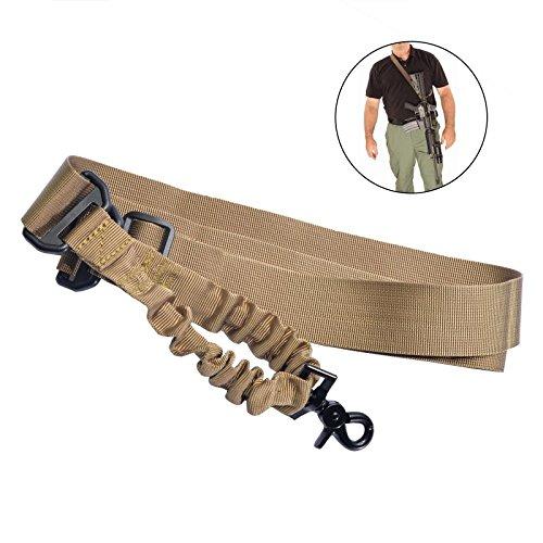 Einstellbare 1 Punkt Tactical Rifle Slings mit Stahl Swivel Clip für Jagd Sling Strap Haken -